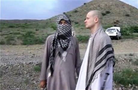 Taliban video shows handover of US soldier