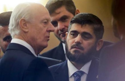 Harsh exchanges make for a rocky start to latest Syria talks