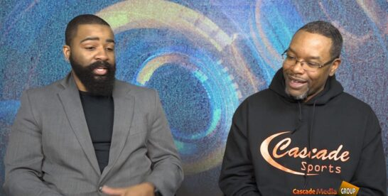 Tech N Motion with Host Dominick Frazier and Aaron Brooks Talking about Cybersecurity